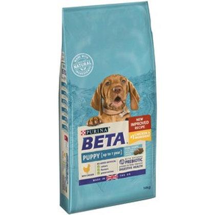 BETA Puppy Dry Dog Food with Chicken 14kg