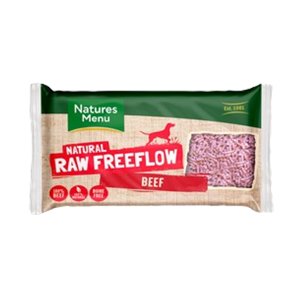 Natures Menu Frozen Freeflow Beef 2kg