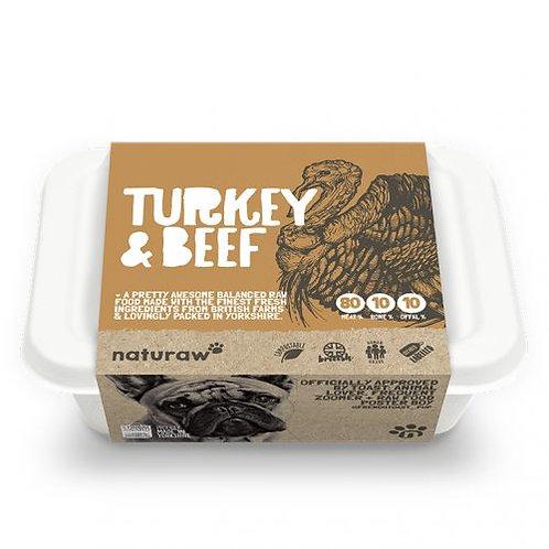 Naturaw Turkey & Beef (500g)