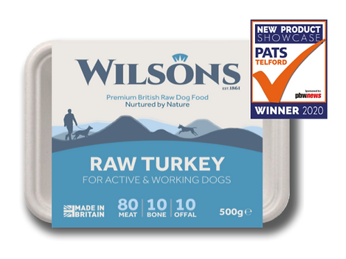 Wilsons Raw Turkey 500g