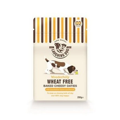 Laughing Dog Wheat Free Cheesy Oaties 250g