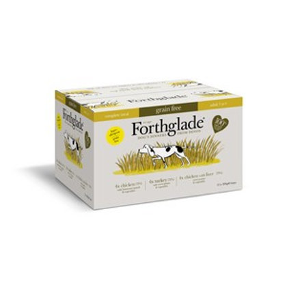 Forthglade Complete Meal Adult MultiPack Poultry 12 x 395g