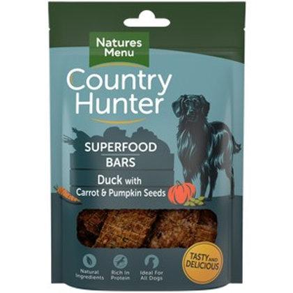 Natures Menu CH Superfood Bar Duck 100g