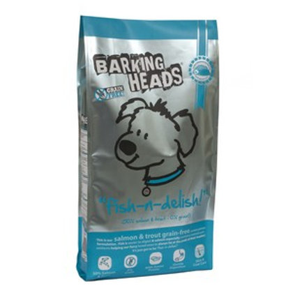 Barking Heads Dog Adult Fish N Delish Grain Free 12kg