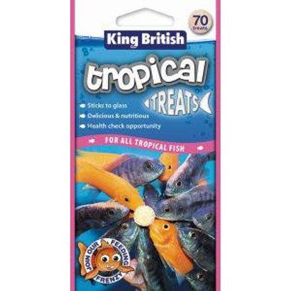 King British Tropical Fish Treats 40g