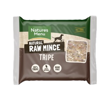 Natures Menu Frozen Tripe Mince 400g