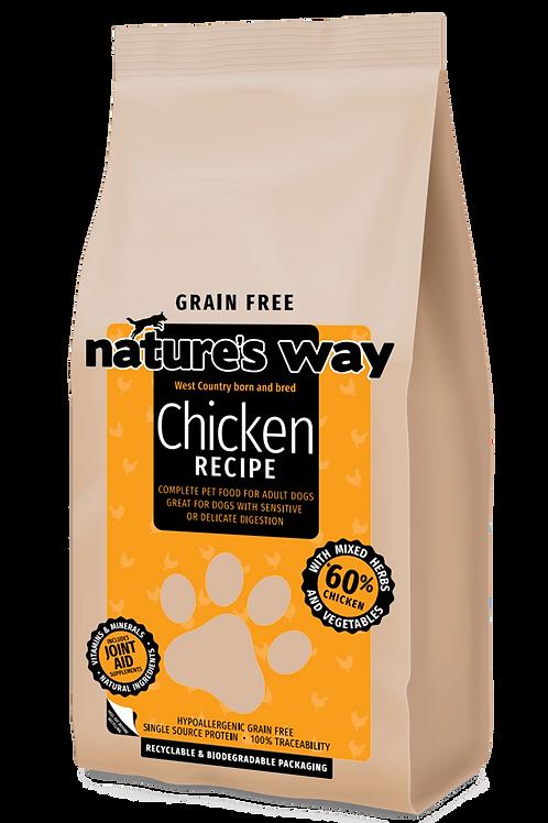 10kg Nature's Way GRAIN FREE Chicken Recipe