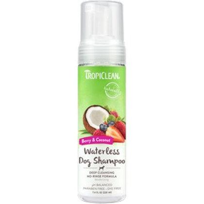 Tropiclean Waterless Shampoo Deep Cleaning 220ml