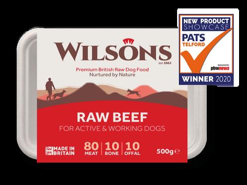Wilsons Raw Beef 500g