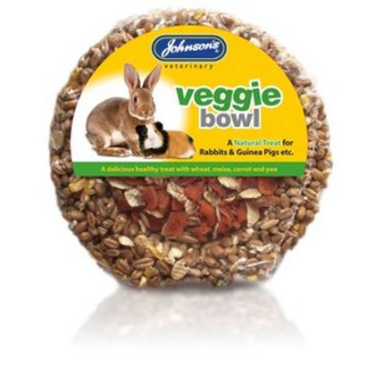 Rabbit & Guinea Pig Veggie Bowl 180g