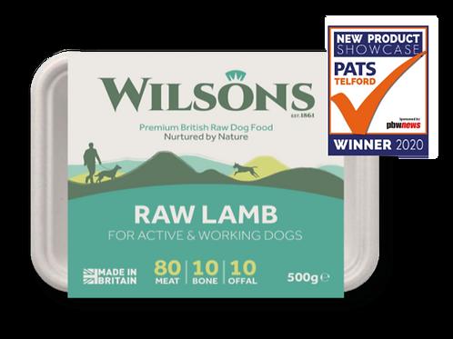 Wilsons Raw Lamb 500g