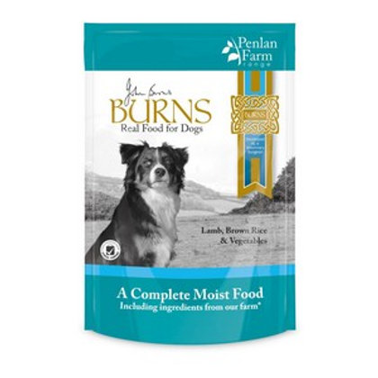 Burns Penlan Pouch Range Fish Brown Rice and Veg 400g