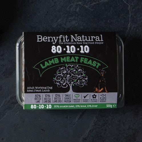 Benyfit 80*10*10 Lamb Meat Feast - 1kg