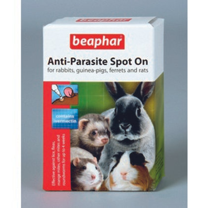 Beaphar Anti Parasite Spot On Ferret Rabbit & Guinea Pig 35g