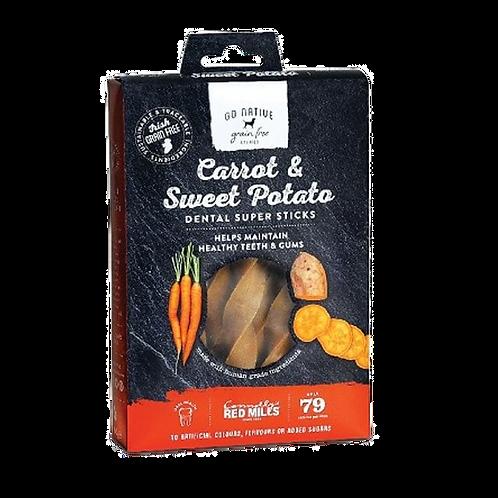 Go Native Super Dental Carrot & Sweet Potato Chews