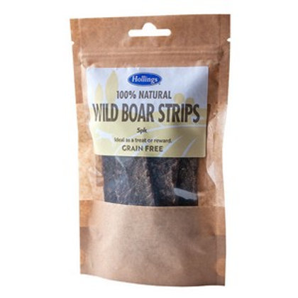 Hollings Wild Boar Strips 5 pack