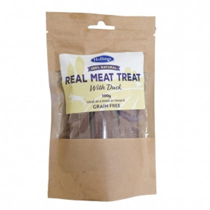 Hollings Real Meat Treat Duck 100gm (Grain Free)