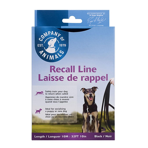 Company Of Animals Recall Line 10 Metre