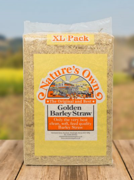 Nature's Own Golden Barley Straw - XL