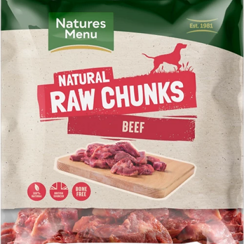 Natures Menu Beef - 1kg