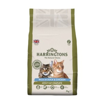 Harringtons Complete Cat Duck & Chicken 2kg