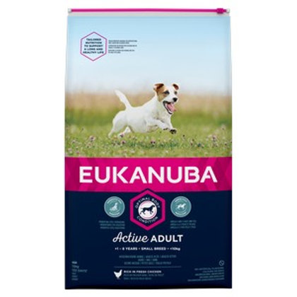 Eukanuba Active Adult Small Breed Chicken 12kg