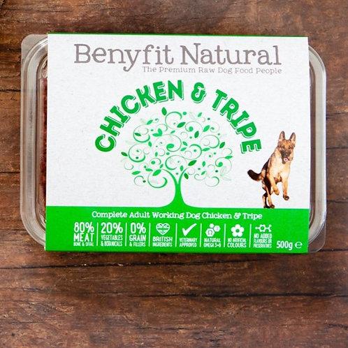 Benyfit Chicken & Tripe - 500g