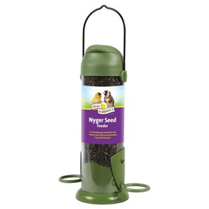 Harrisons Flip Top Nyger Seed Feeder 22cm