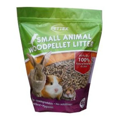 Pettex Wood Pellet Small Animal Bedding 5L