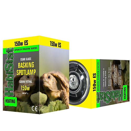 Habistat Basking Bulb - Screw Fit - 150 watt