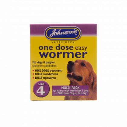One Dose Easy Wormer – Size 4