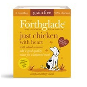 Forthglade Just chicken with heart (395g)