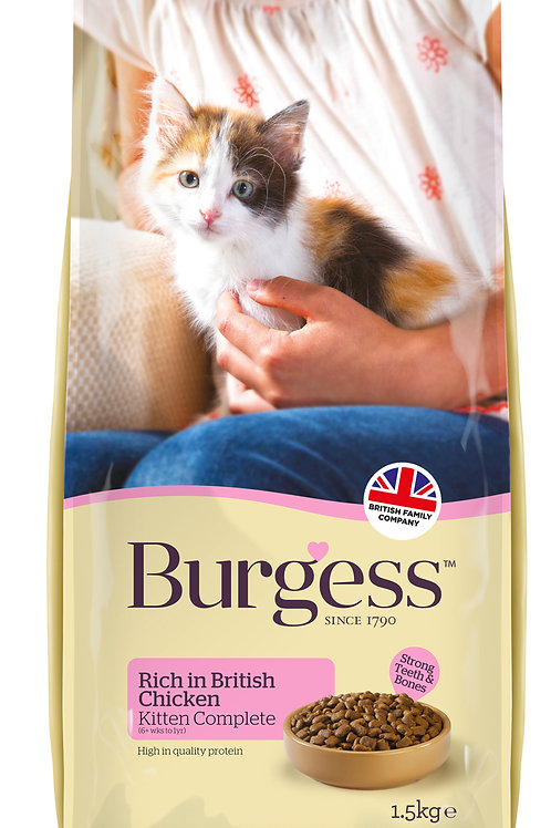 Burgess Kitten rich in Chicken 1.5kg