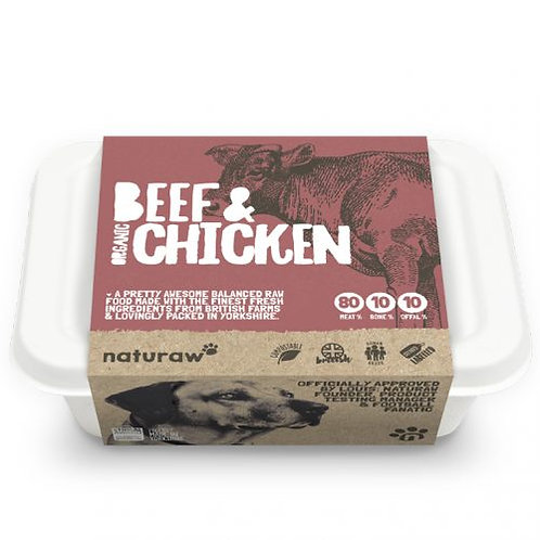 Naturaw Beef & Chicken (500g)