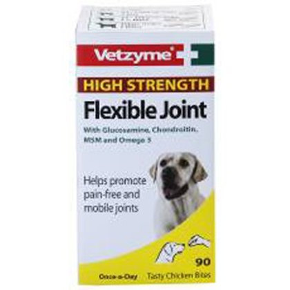 Vetzyme Flexible Joint Tablets High Strength (90 Tablets)