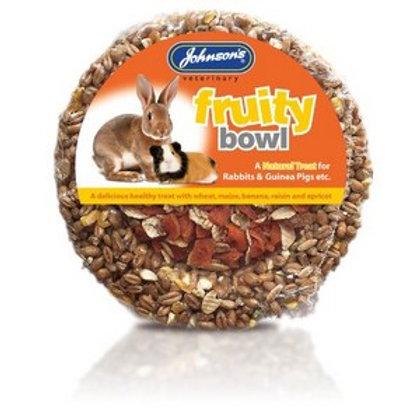 Rabbit & Guinea Pig Fruity Bowl 180g