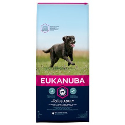 Eukanuba Active Adult Large Breed Chicken 12kg
