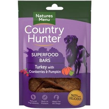 Natures Menu CH Superfood Bar Turkey 100g