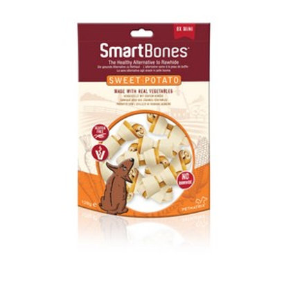 SmartBones Sweet Potato Mini Bones (8 Pack)