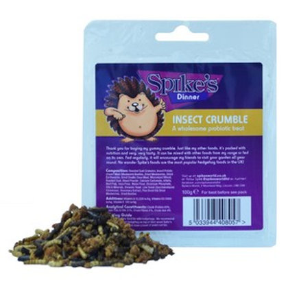 Spikes Insect Crumble 100g