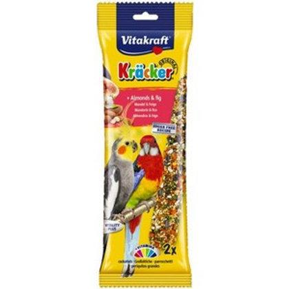 Vitakraft Kracker Cockatiel Almond & Fig