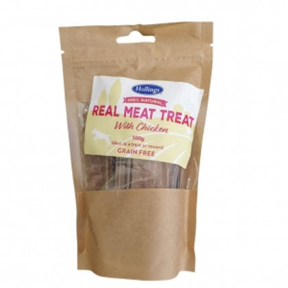 Hollings Real Meat Treat with Chicken 100gm (Grain free)