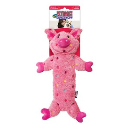 KONG Low Stuff Speckles Pig
