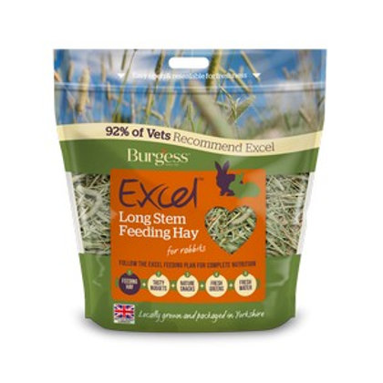 Burgess Excel Long Stem Feeding Hay 1kg
