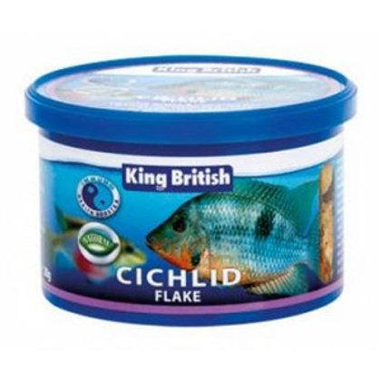 King British Cichlid Flake With IHB 28g
