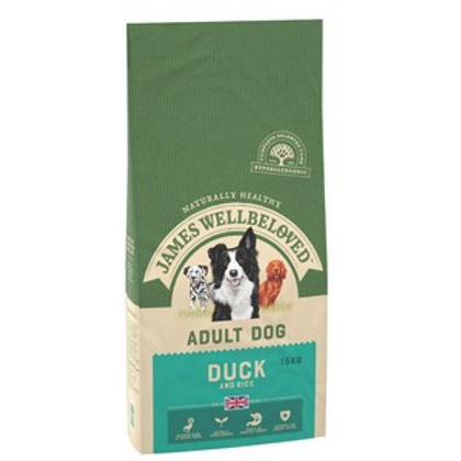 Wellbeloved Duck and Rice Adult 15kg