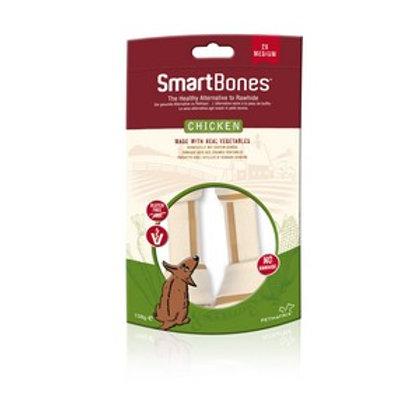 SmartBones Chicken Medium Bones (2 Pack)