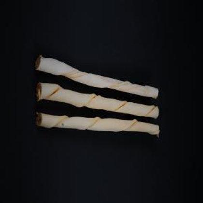 Bravo Premium Cheese Twisted Stick 18mm x 25cm