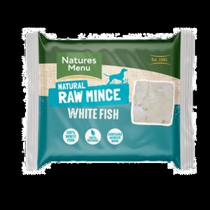 Natures Menu Frozen White Fish Mince 400g