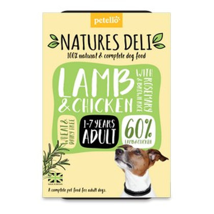Natures Deli Lamb & Chicken 400g